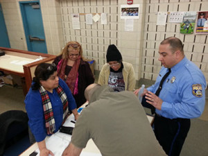 25th District Police worked with residents to combat crime in the area.