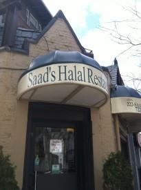 Saad' Halal Restaurant is among many popular Muslim restaurants in the Walnut Hill community.
