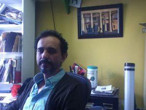 Taller's Visual Art Program Manager, Rafael Damast.