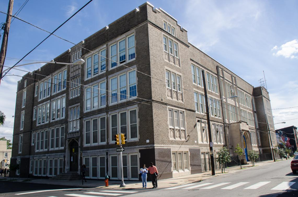 James Ludlow Middle School is located at Sixth and Master Streets.
