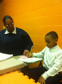 Carman Harris of UPSC helped a student with paragraph structure.