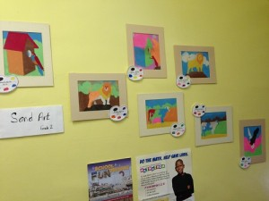 The arts are a source of pride at St. Laurentius School.