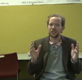 Program coordinator Andrew Dalzell has had a major impact on the community through SOSNA.