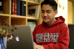 Oscar Wang studies education a Haverford College and teaches an enrichment program at EM Stanton Elementary School.