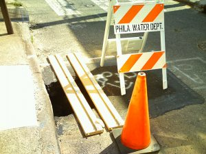 Residents were concerned that the hole would increase in size and comprise the street.