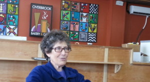 Doris Stahl, volunteer in charge of horticulture and agriculture at Overbrook Arts Center, explained the mission of  The Picasso Project.