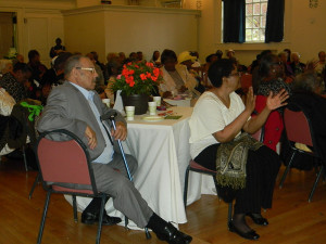 Senior citizens enjoyed an evening of jazz at the Center in the Park's Member Appreciation Cocktail Reception.