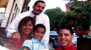 Councilwoman Maria Quiñones-Sánchez with her family.