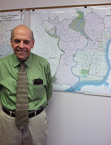 Robert Miller explained the location of pastoral planning area 600.