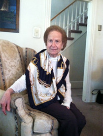 Josephine Argentiero told her history of belonging to Saint Donato's parish.