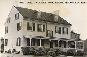 Photo Credit: Fairmount Park Historic Resource Archives The Logan House served as a police station and Fairmount Park Guard for much of the 20th century.