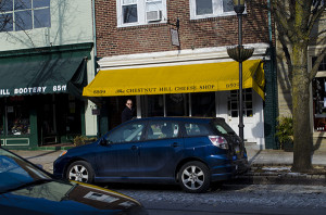 The Chestnut Hill Cheese Shop, owned by Dan Weiss is located on Germantown Avenue.