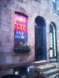 Rebecca Wright is the owner of the Saturn Club Hair Salon in University City.