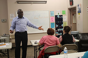 Facundo Knight taught the students U.S. History in his citizenship class.