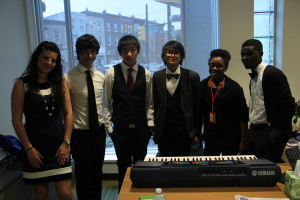 Music was provided by students from Mastery Thomas Charter School-Thomas Campus.