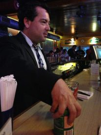 """Grey Lodge owner Mike Scotese serves as """"Let's Make a Deal"""" host during Philly Beer Week."""