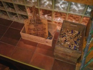 Corks to be recycled