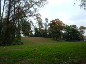 Fisher Park offers 23 acres of recreation space and woodlands.