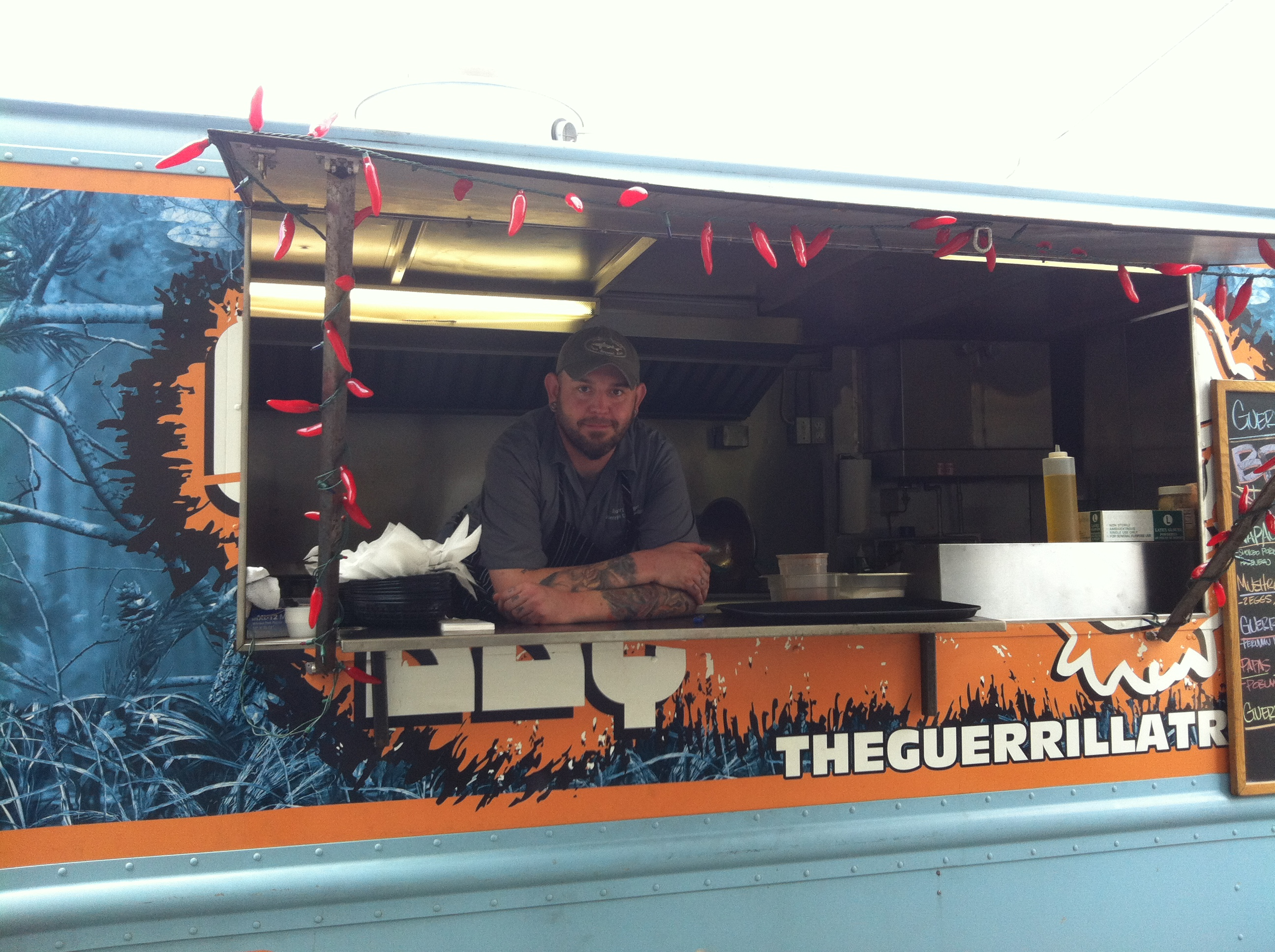 Chef Robert Legget started the Guerilla Ultima food truck nearly a year ago.
