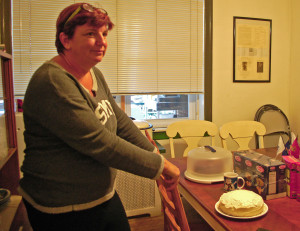 Terry Magnotta volunteers at PVCH by preparing meals and baked goods for the veterans.