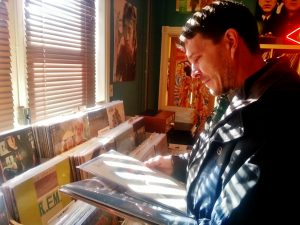 Steve Heller Burnholme selected a few albums for purchase as he recalled childhood memories with vinyl records.