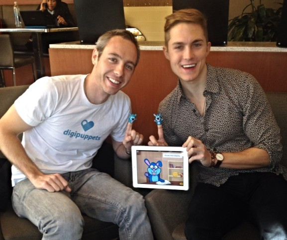Co-founders Daniel Clay and Brendan Green showed off Honey Bunny.