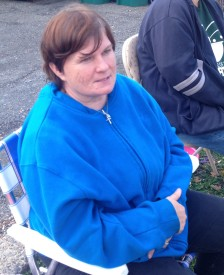 Cioccia's yard sale started at 7 a.m. and ended at 4 p.m.