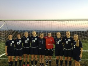 The Franklin Towne Charter Women's Soccer team has experienced success on and off the field. After a championship season, the team is looking to expand the program. Photo via Lisa Hatala.