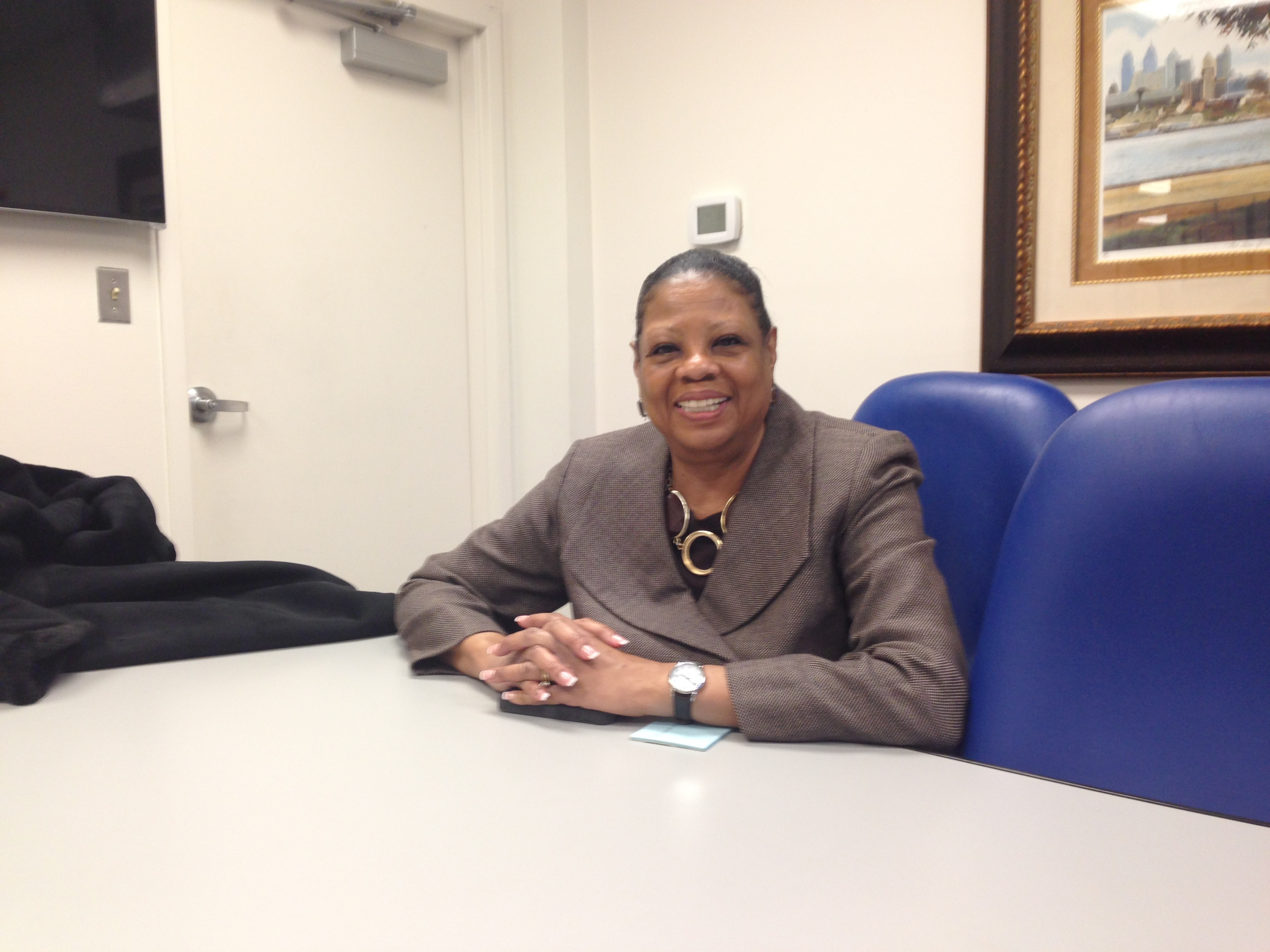 Veronica Joyner, Founder and Chief Administrative Officer of the Mathematics, Civics and Sciences Charter School