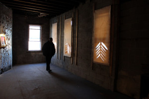 Norman O'Neill explores Hawthorne Hall.