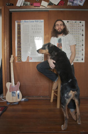 Rob Swift promotes a stable music scene out of his home studio on 35th and Spring Garden St.   Photo: Michael Wojcik