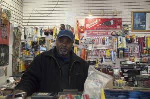 Joe Boyd, owner of Black Star Supply company is also a board member of the Dornsife Center for Community Partnerships.   Photo: Michael Wojcik