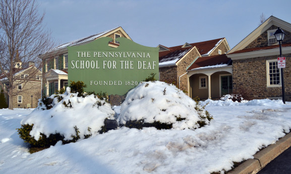 The Pennsylvania School for the Deaf is the third oldest school of its kind in the country.