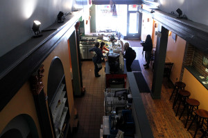 The High Point Café, located on the 2800 block of Girard Ave. in Philadelphia, on Monday, March 24, 2014.