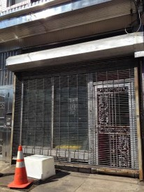 Future BYOB cafe next to Firth and Wilson Bike Shop