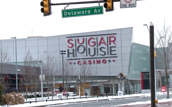 SugarHouse Casino located at 1001 N. Delaware Avenue