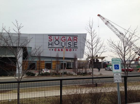 SugarHouse Casino opened in 2010