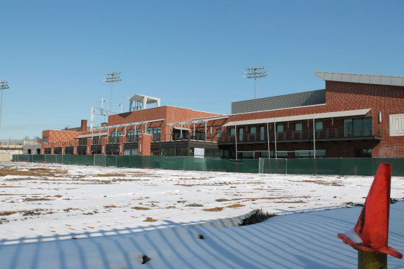 Edberg-Olsen Hall, the team's practice facility, was dedicated in 2000 and recieved a $10 million expansion in 2012.