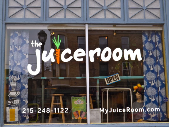 The Juice Room is a juice bar providing a healthy option with a wide variety of fresh, made-to-order juices and smoothies.