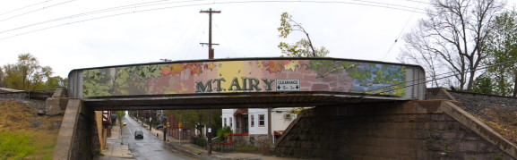 Entering Mount Airy