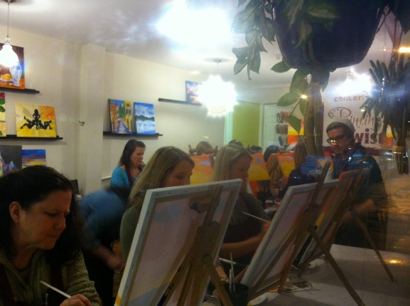 Painting with a Twist originated in New Orleans.