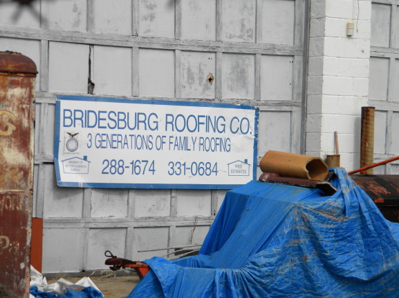 Bridesburg Roofing Company located at 4557 Belgrade Street.