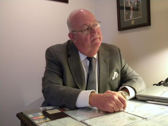 Joseph F. Slabinski, III, director of Slabinski Funeral Home.