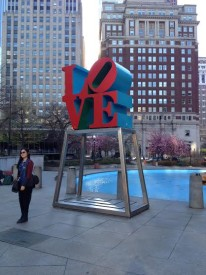 "Love Park serves as the backdrop of ""Starlight,"""