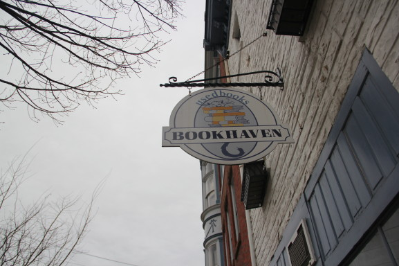 Booken is a bookstore that buys, sells, and trades hard copies of books.
