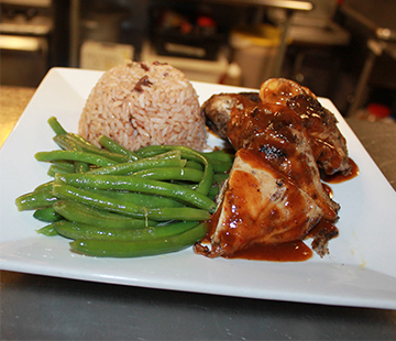 South Philadelphia locals don't have to go far for Caribbean cuisine, as Reef is just off South Street.
