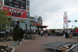 The statue of Joe Frazier is set to be placed outside the marquee entrance to Xfinity! Live on 11th and Pattison streets.
