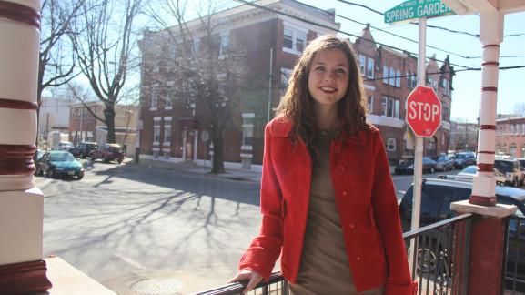Maureen Bellwoar, 19, created Haven at Drexel University.