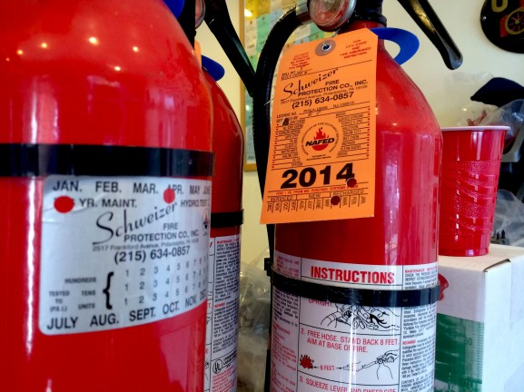 For 35 years, Schweizer Fire Protection Company-located on 2517 Frankford Avenue - has serviced commercial businesses' fire safety needs.