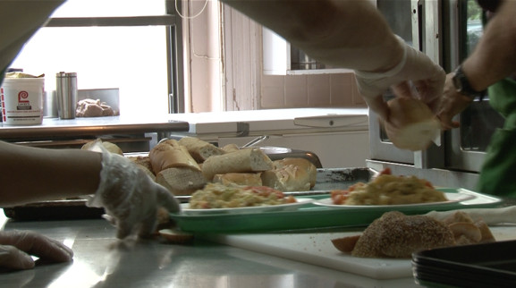 Face to Face serves hot, nutritious meals to low income families, single, and homeless people.